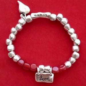 """NWT! UNO de 50 Bracelet """"Love me Sweet"""" PUL1568."""